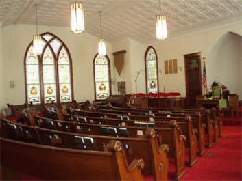 Holy Neck Christian Church Interior